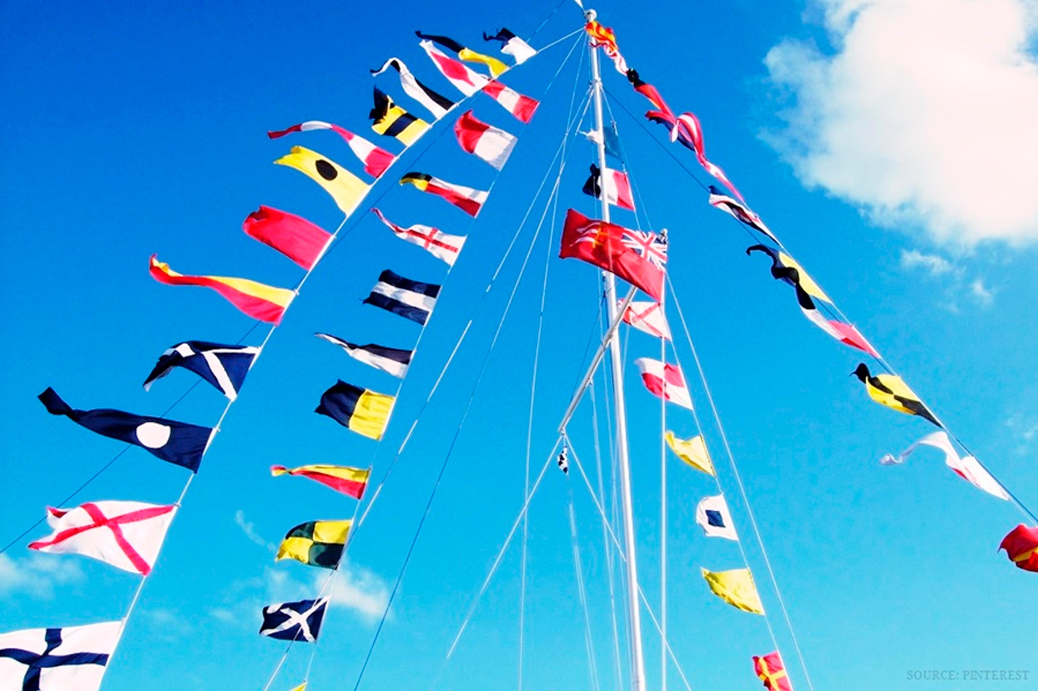Bandeiras Náuticas e seus Significados