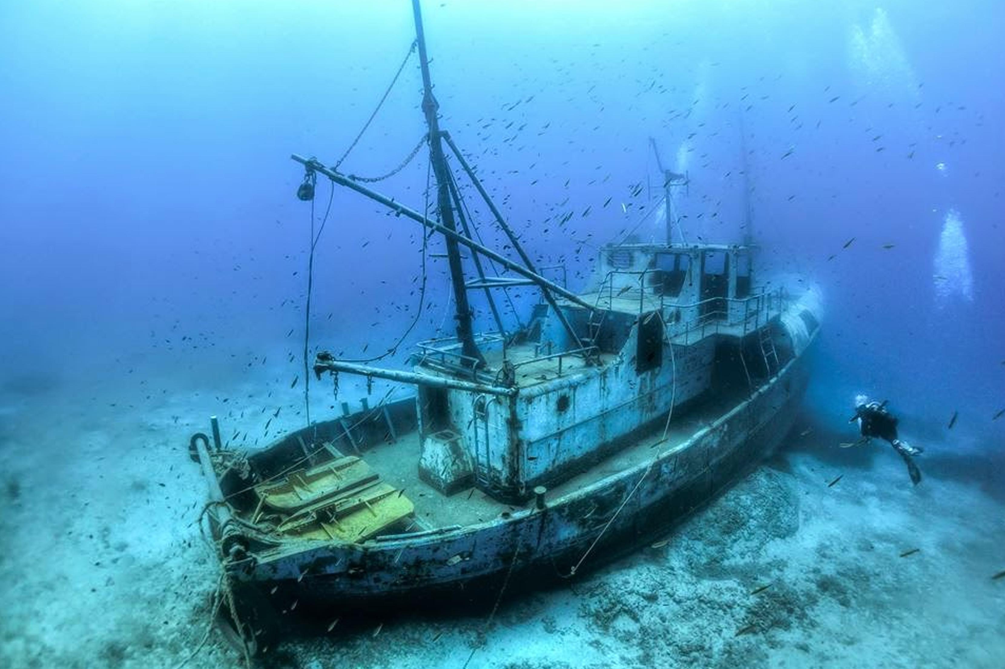 Os 5 melhores naufrágios para mergulho